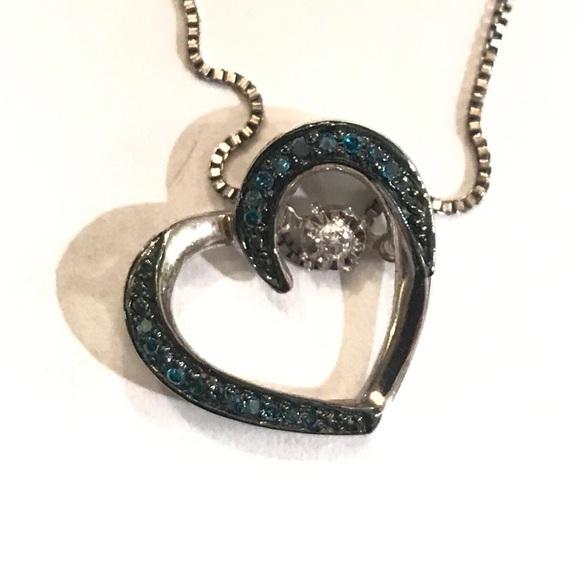 Kay Jewelers Jewelry - Kay Jewelers diamond heart necklace